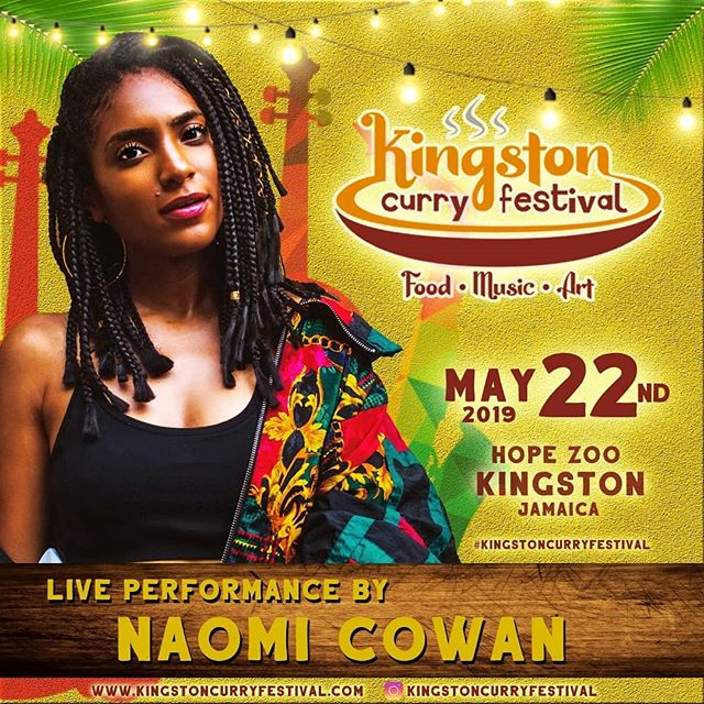 Kingston Curry Festival - Live performance by Naomi Cowan and others