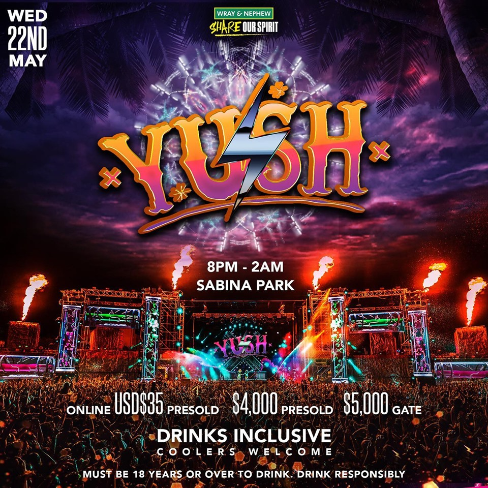 YUSH at Sabina Park, Kingston