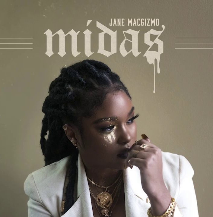 "Jane Macgizmo ""Midas"" Available on digital music platforms"